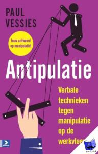 cover boek antipulatie manipulatie op de werkvloer