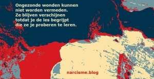 ongezonde wonden kunnen niet worden vermeden narcisme.blog