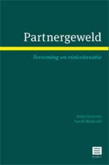cover boek partnergeweld screening en taxatie