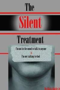fotot van de cover van het boek THE Silent Treatment Auteur: Ricky Battle