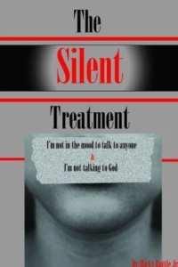 fotot van de cover van het boek THE Silent Treatment Auteur: Ricky Battle