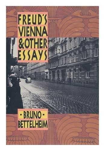 cover book Bruno Bettelheim Freud's Vienna