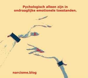 psychologisch alleen zijn in ondraaglijke emotionele toestanden