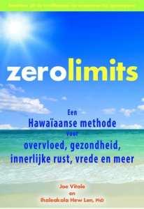 foto cover boek zero limits