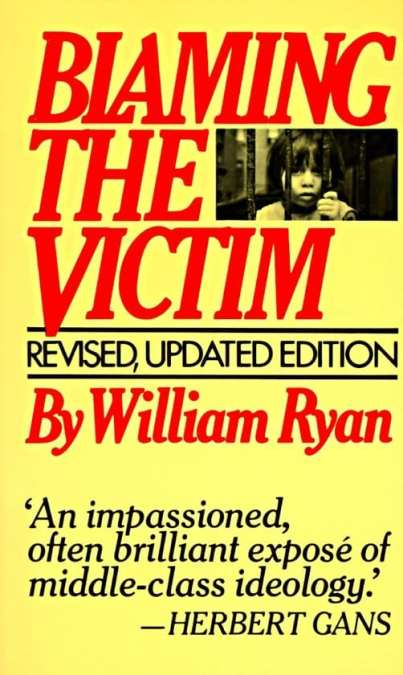 cover book blaming the victim