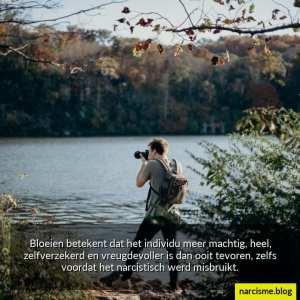 betekenis van bloeien, bloeien na narcistisch misbruik