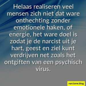 ontgiften van het psychisch virus