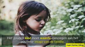 gouden kind waarde toevoegen imago van de familie, jonge kinderwonden genezen