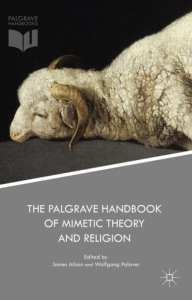the palgrave handbook of mimetic theory James Alison