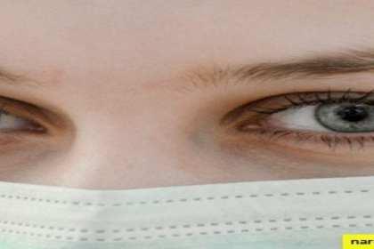 ogen met vrouw met doek voor haar mond misbruik in de narcistische familie