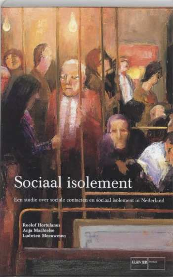 veel mensen op een tram voor sociaal isolement