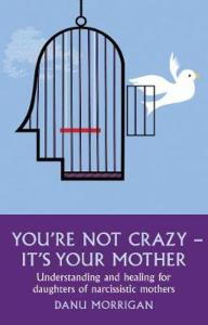 cover boek you're not crazy