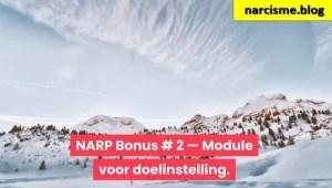 Narp Bonus 2 Module voor doelinstelling