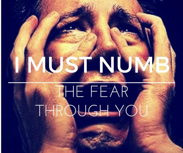 i-must-numb