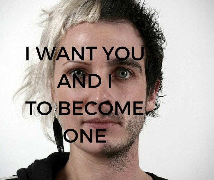 I WANT YOUAND I TO BECOMEONE