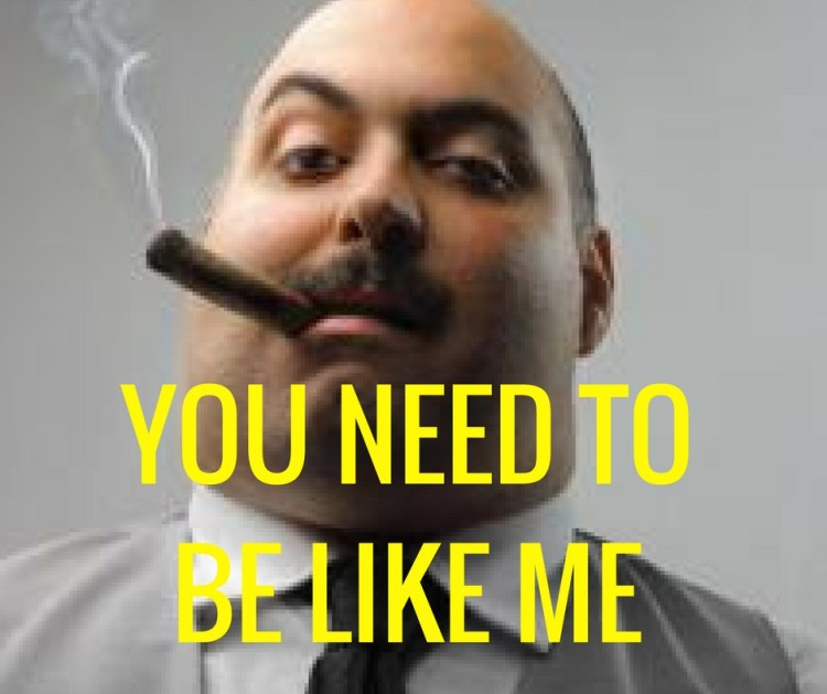 YOU NEED TOBE LIKE ME