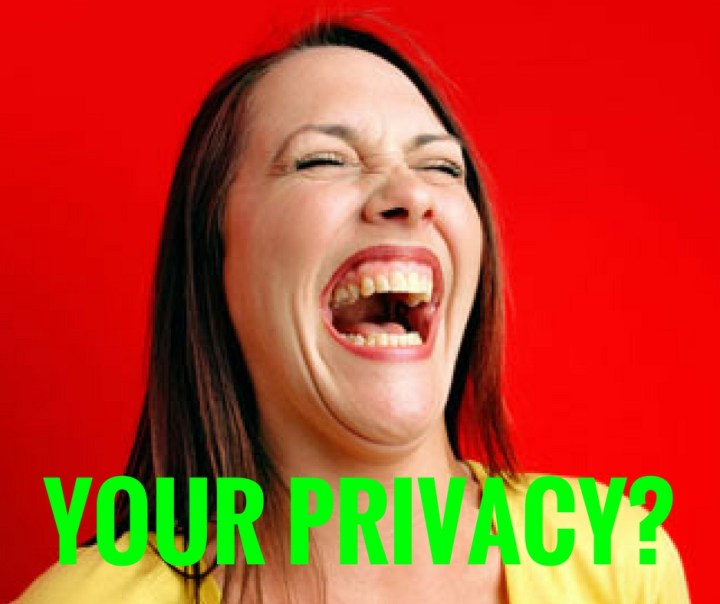 YOUR PRIVACY_