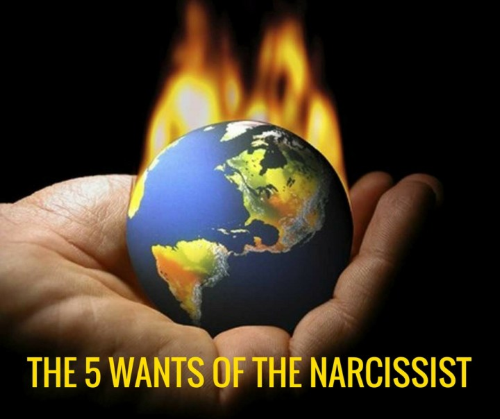 THE 5 WANTS OF THE NARCISSIST