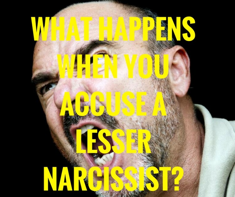 WHAT HAPPENSWHEN YOUACCUSE ALESSER NARCISSIST?