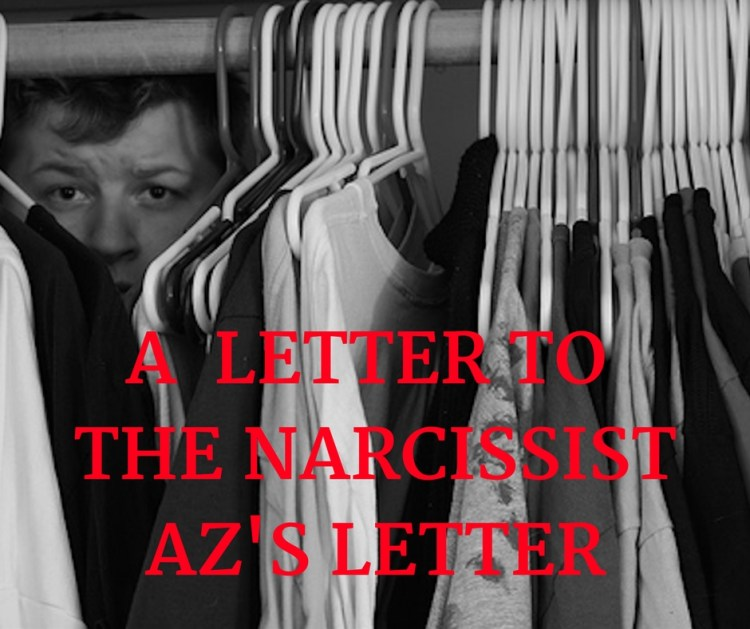 A LETTER TO THE NARCISSISTAZ'S LETTER