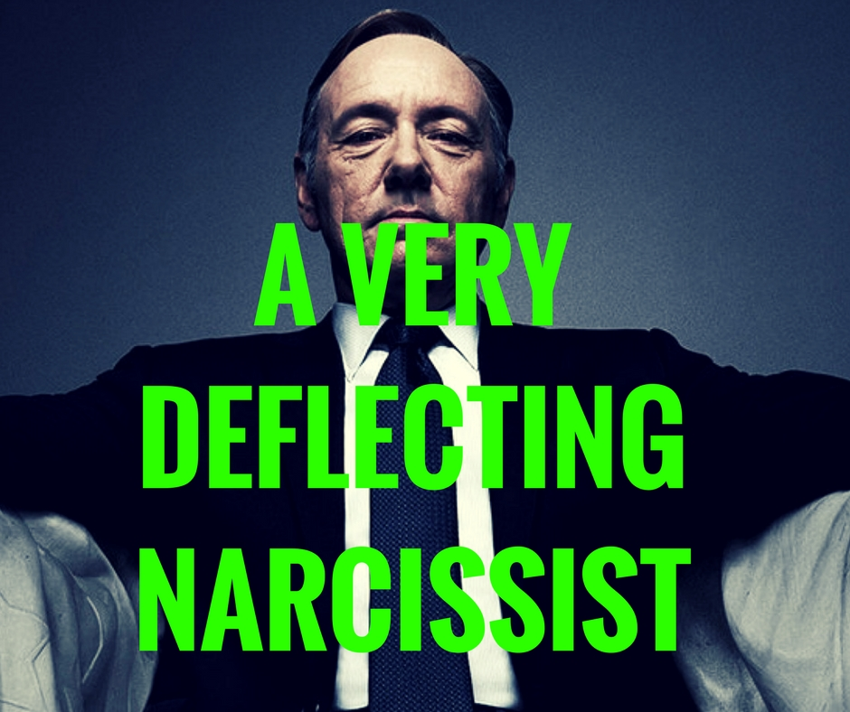 A Very Deflecting Narcissist – Knowing the Narcissist : HG Tudor