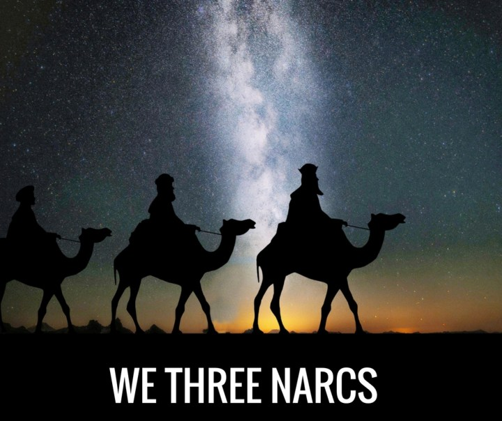WE THREE NARCS
