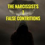 the narcissist´s seven false contritions sorry