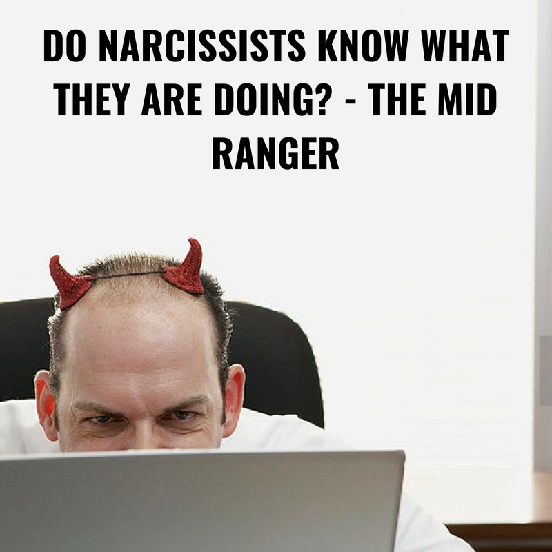 Do narcissists know they are narcissist