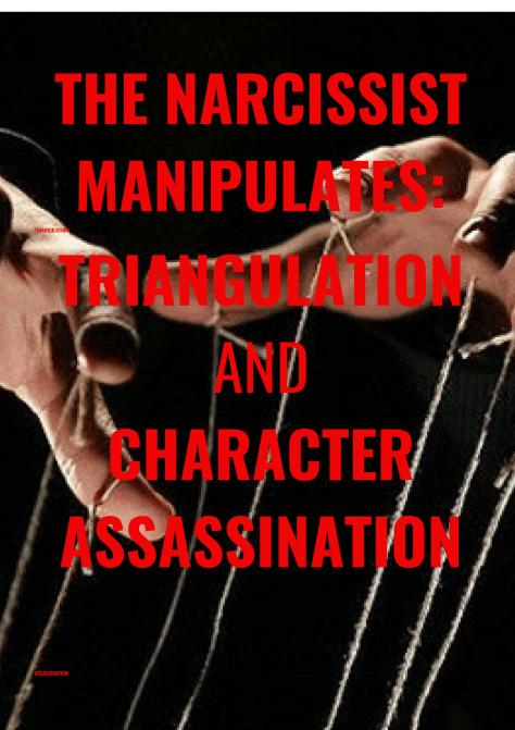 THE NARCISSIST MANIPULATES