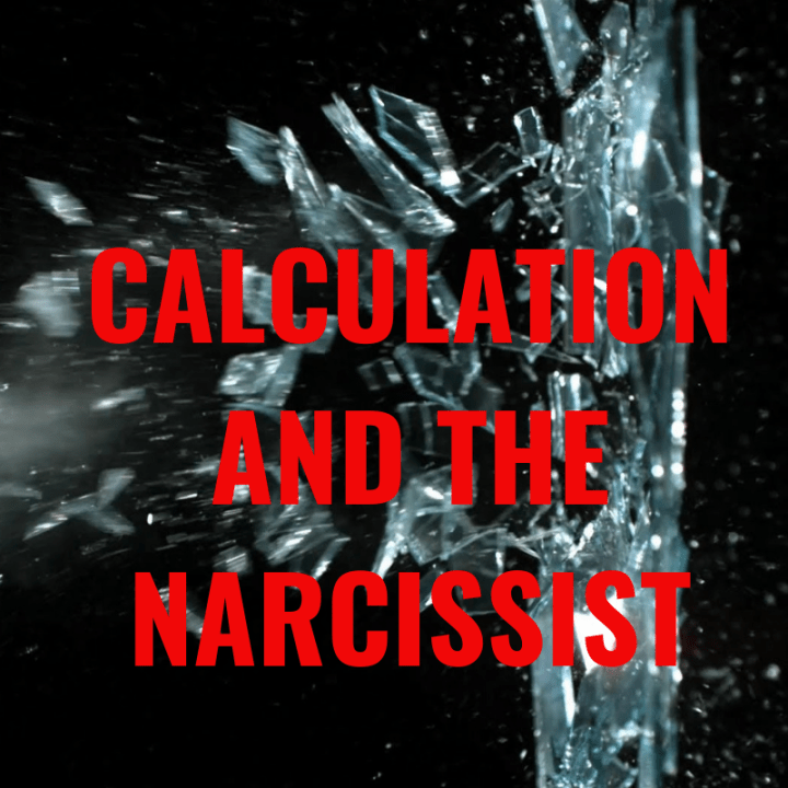CALCULATION AND THE NARCISSIST