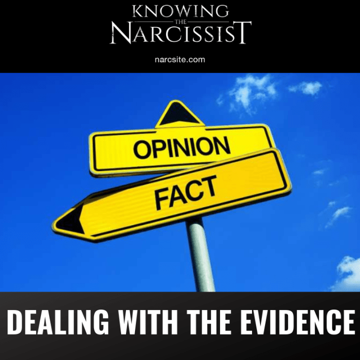 DEALING WITH THE EVIDENCE