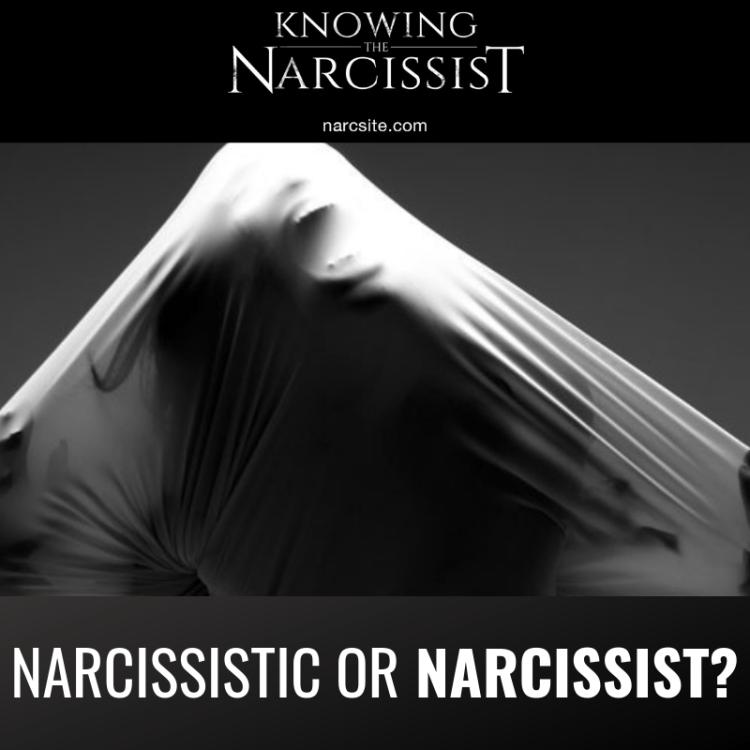 NARCISSISTIC OR NARCISSIST?