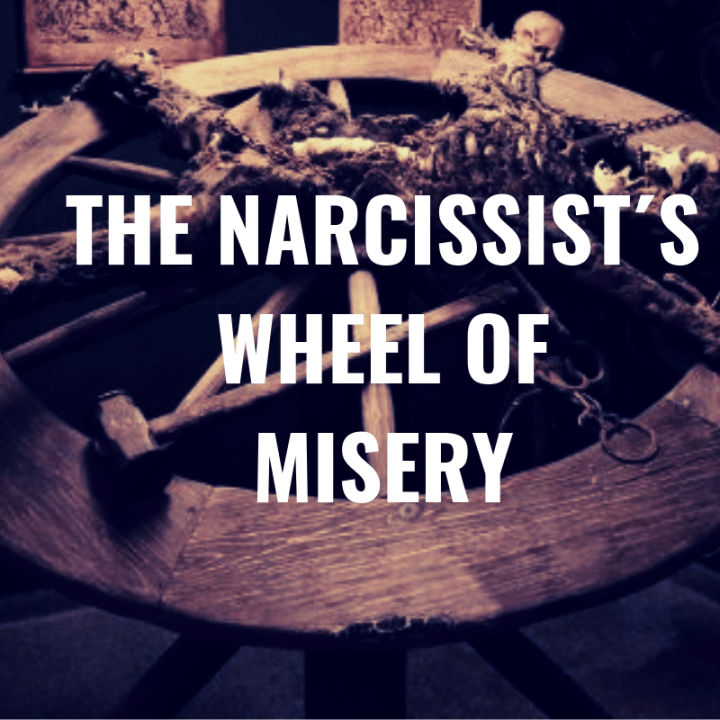 THE NARCISSIST´S WHEEL OF MISERY