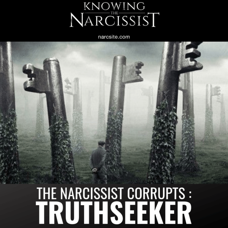 THE NARCISSIST CORRUPTS _
