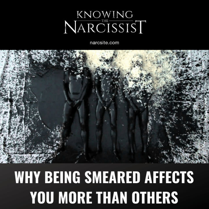 WHY BEING SMEARED AFFECTS YOU MORE THAN OTHERS