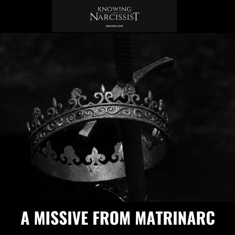 A MISSIVE FROM MATRINARC