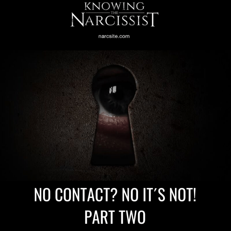 NO CONTACT? NO IT´S NOT! PART TWO