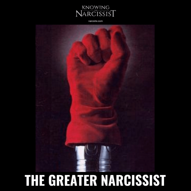 THE GREATER NARCISSIST