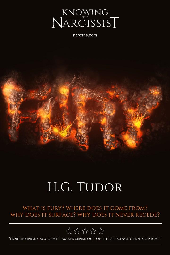 H.G Tudor - Fury e-book cover