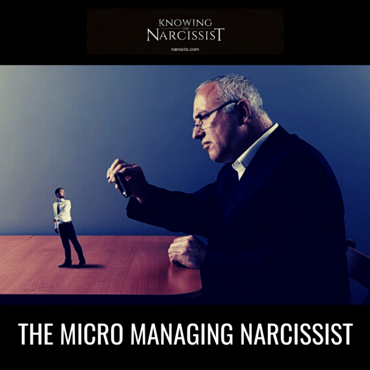 THE MICRO MANAGING NARCISSIST