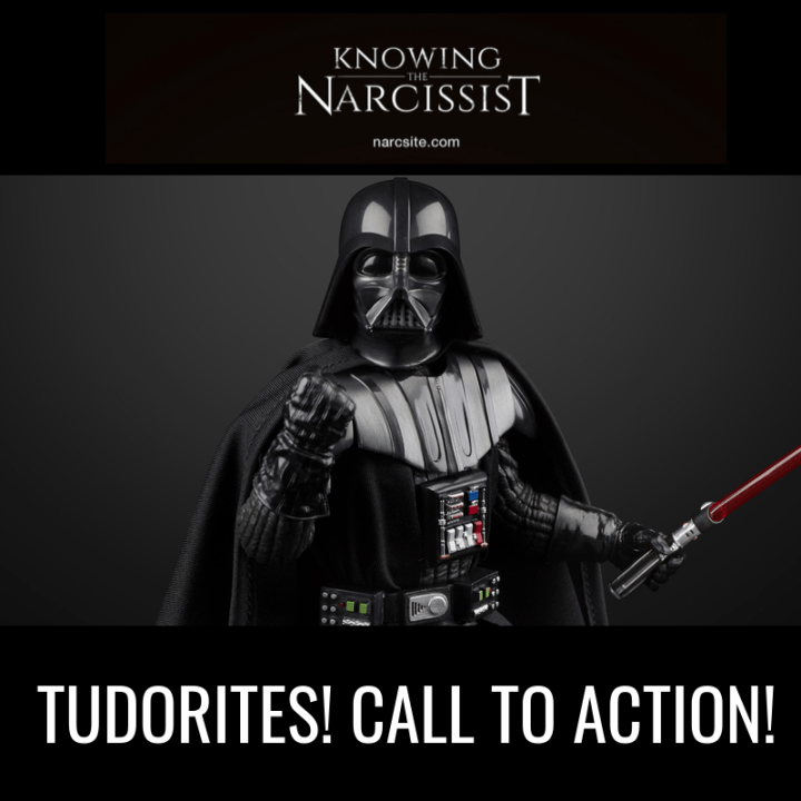TUDORITES! CALL TO ACTION!