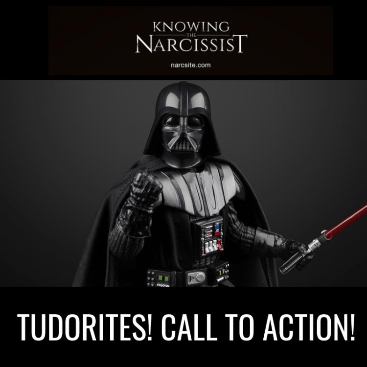 TUDORITES! CALL TO ACTION!