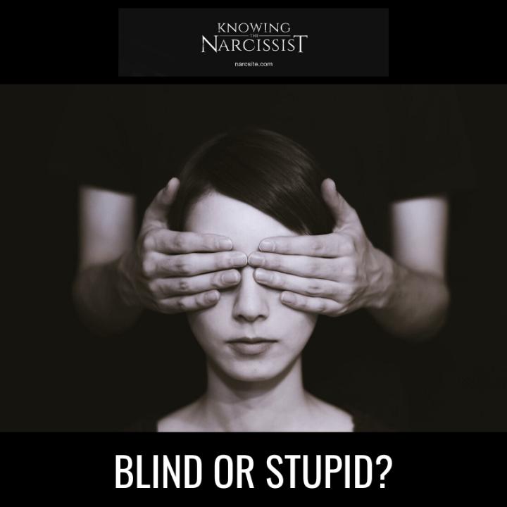 BLIND OR STUPID?