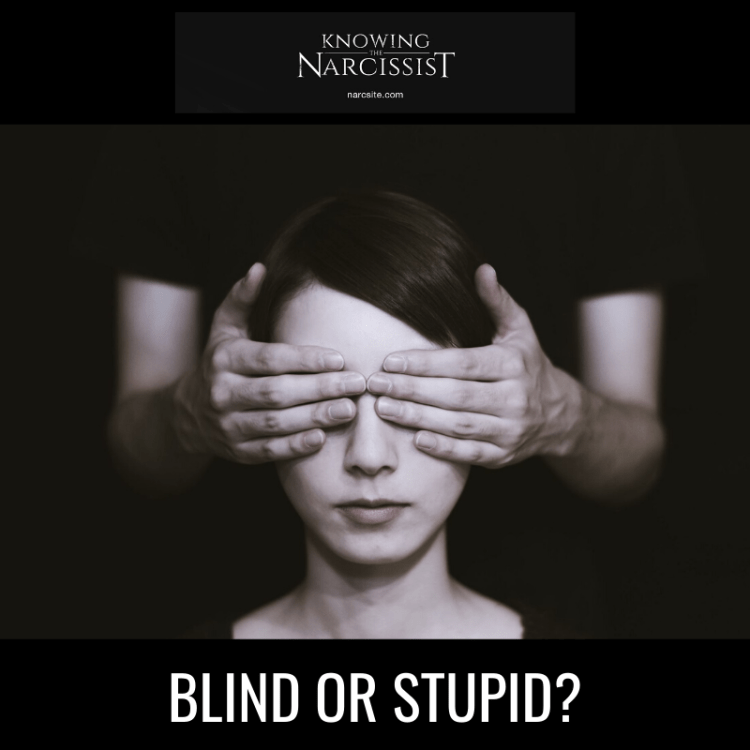 BLIND OR STUPID?
