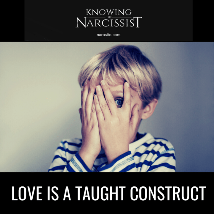 LOVE IS A TAUGHT CONSTRUCT