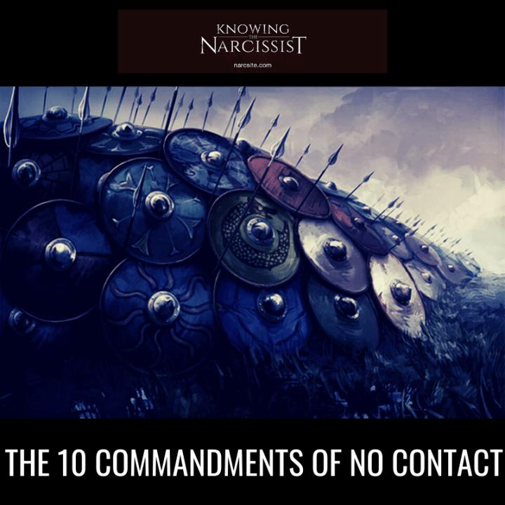 THE 10 COMMANDMENTS OF NO CONTACT