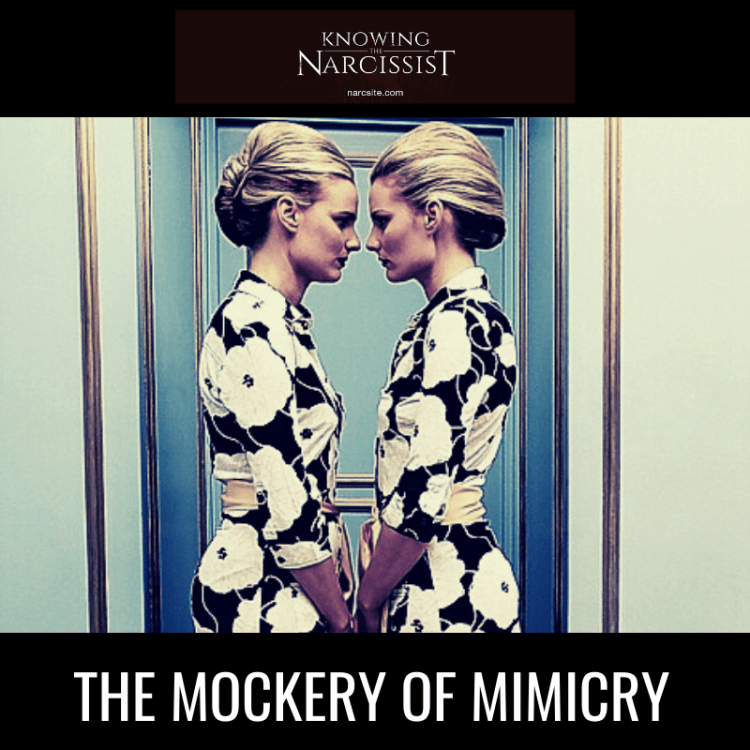 THE MOCKERY OF MIMICRY