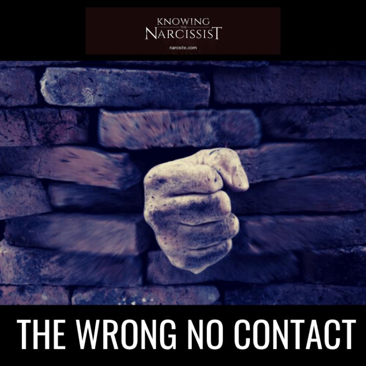 THE WRONG NO CONTACT