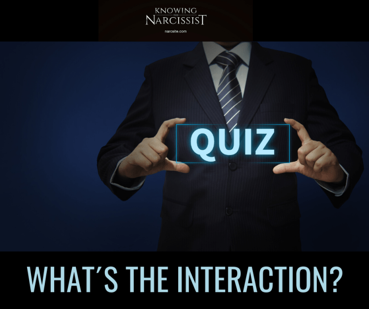 WHAT IS THEINTERACTION?