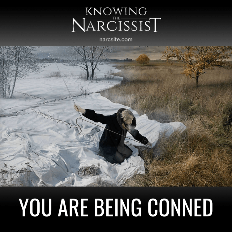YOU ARE BEING CONNED